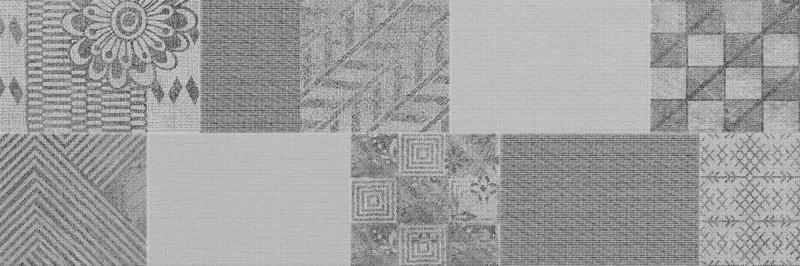 Керамический декор ITT Ceramic Passione Pathwork Grey 20х60 см