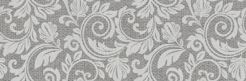 Керамический декор ITT Ceramic Passione Grey 20х60 см