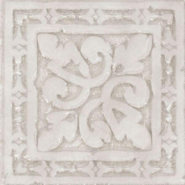 Керамическая вставка Absolut Keramika Papiro Taco Gotico White 8х8 см стоимость