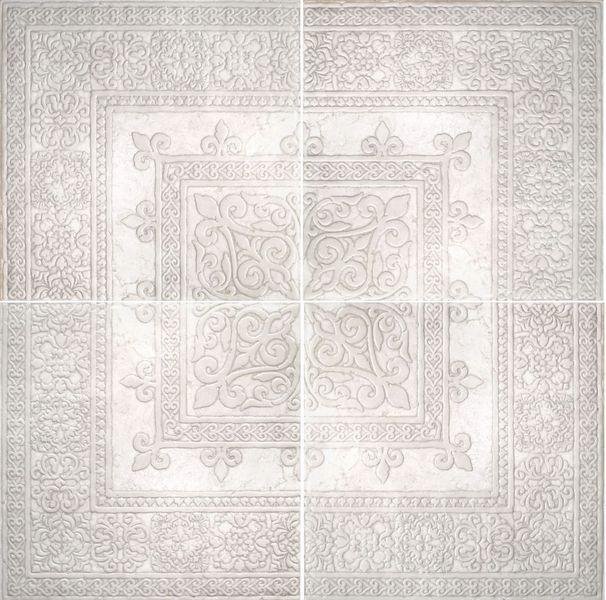 Керамогранит Absolut Keramika Papiro Roseton Gotico 4 pz White 60х60 см стоимость