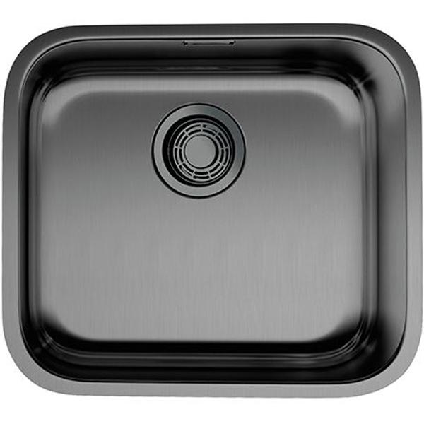 Кухонная мойка Omoikiri Omi 49-U GM Вороненая сталь 4993073 фото