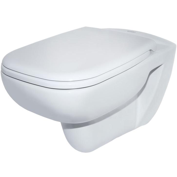 Унитаз Duravit D-Code 45700900A1 подвесной с сиденьем Микролифт