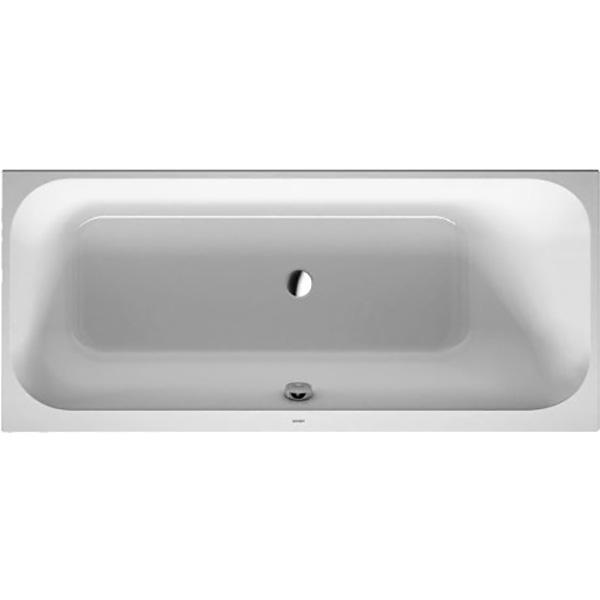 Акриловая ванна Duravit Happy D 2 170x70 без гидромассажа акриловая ванна excellent wave slim 170x70 без гидромассажа