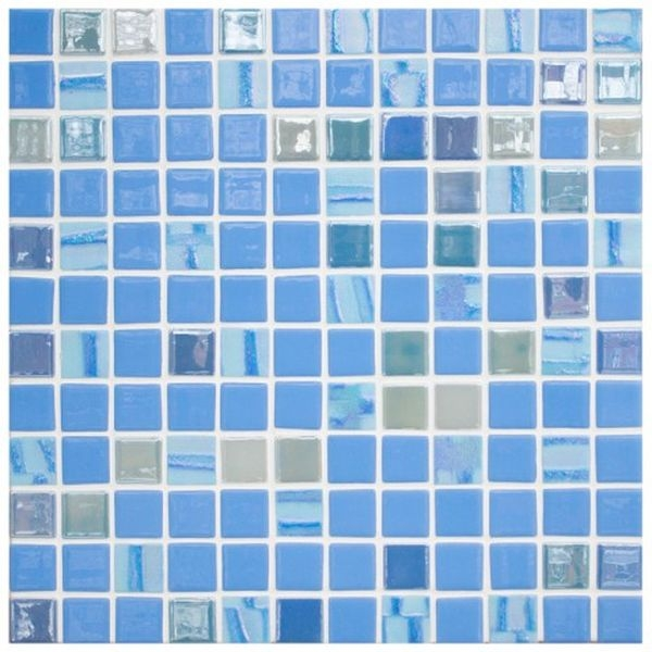 Стеклянная мозаика Vidrepur Astra Blue Голубой 31,7х31,7 см стеклянная мозаика vidrepur hex woods 4700 30 7х31 7 см