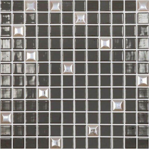 Стеклянная мозаика Vidrepur Edna Mix №836 Темно-коричневый 31,7х31,7 см стоимость