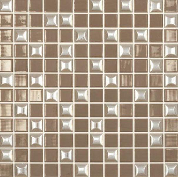 цена Стеклянная мозаика Vidrepur Edna Mix №835 Светло-коричневый 31,7х31,7 см онлайн в 2017 году