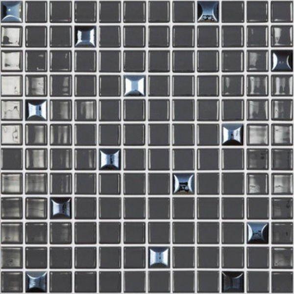 Стеклянная мозаика Vidrepur Edna Mix №828 Черный 31,7х31,7 см стеклянная мозаика vidrepur edna black черный 31 7х31 7 см