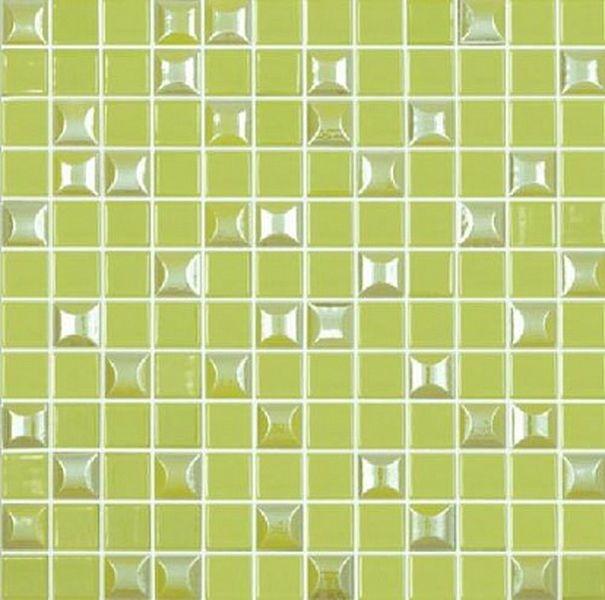 Стеклянная мозаика Vidrepur Edna Mix №601 Зеленый 31,7х31,7 см стеклянная мозаика vidrepur edna black черный 31 7х31 7 см