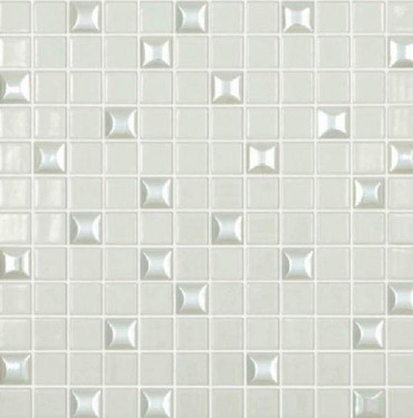 Стеклянная мозаика Vidrepur Edna Mix №100 Белый 31,7х31,7 см стеклянная мозаика vidrepur edna black черный 31 7х31 7 см