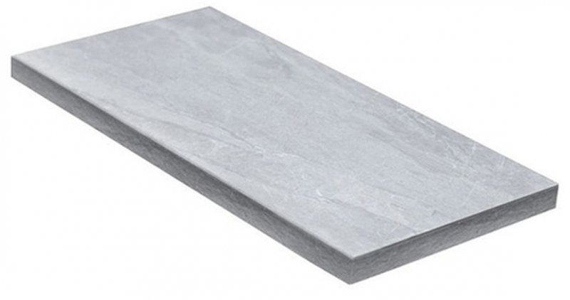 Ступень угловая Dvomo Adrenaline Silver правая 33х67,5 см