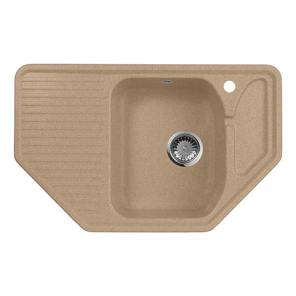 цена на Кухонная мойка AquaGranitEx M-10 Песочный