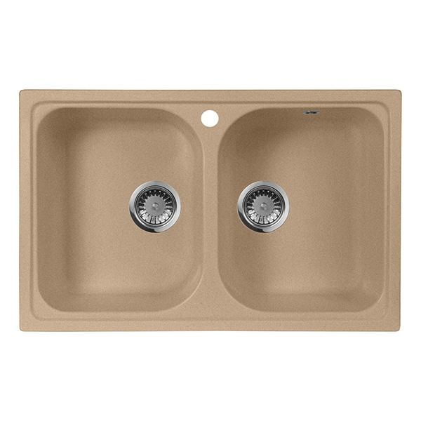 Кухонная мойка AquaGranitEx M-15 Черный