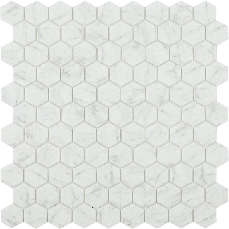 Стеклянная мозаика Vidrepur Hex Marbles № 4300 30,7х31,7 см стеклянная мозаика vidrepur born grey серый 31 7х31 7 см