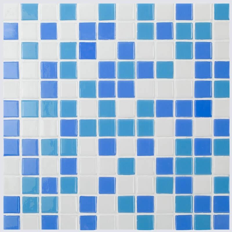 Стеклянная мозаика Vidrepur Mixed № 100/102/106 31,7х39,6 см