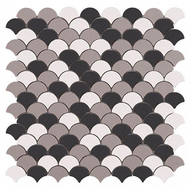 Стеклянная мозаика Vidrepur Soul Black Mix 30,7х31,7 см стеклянная мозаика vidrepur edna black черный 31 7х31 7 см