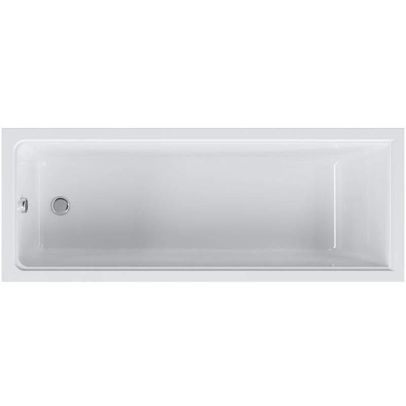 Акриловая ванна AM.PM Gem 170х70 без гидромассажа ванна без гидромассажа tansa s сталь 170х70 см