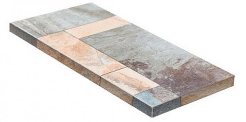 Ступень угловая Dvomo Tera правая 33х67,5 см