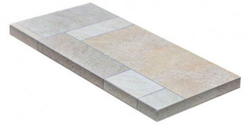 Ступень угловая Dvomo Gredos правая 33х67,5 см