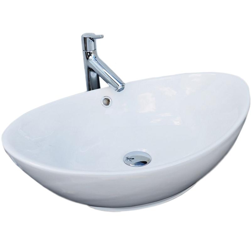Раковина-чаша CeramaLux 60 9019 Белая