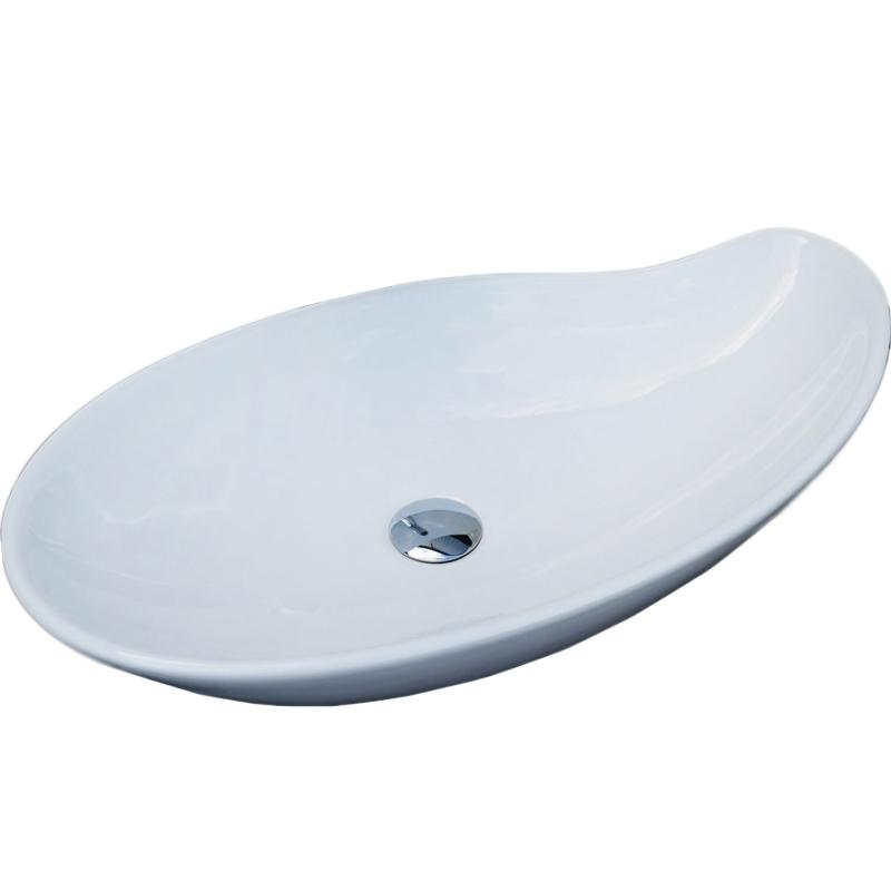 Раковина-чаша CeramaLux 65 9052 Белая раковина чаша ceramalux 65 9438 белая