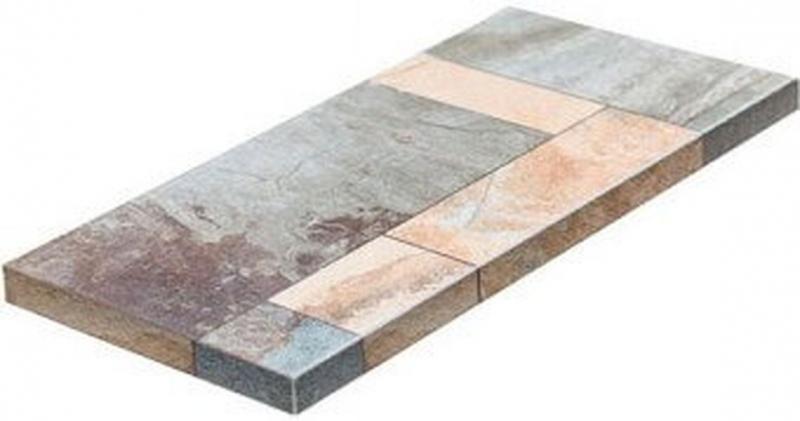 Ступень угловая Dvomo Tera левая 33х67,5 см ступень угловая dvomo tera правая 33х67 5 см