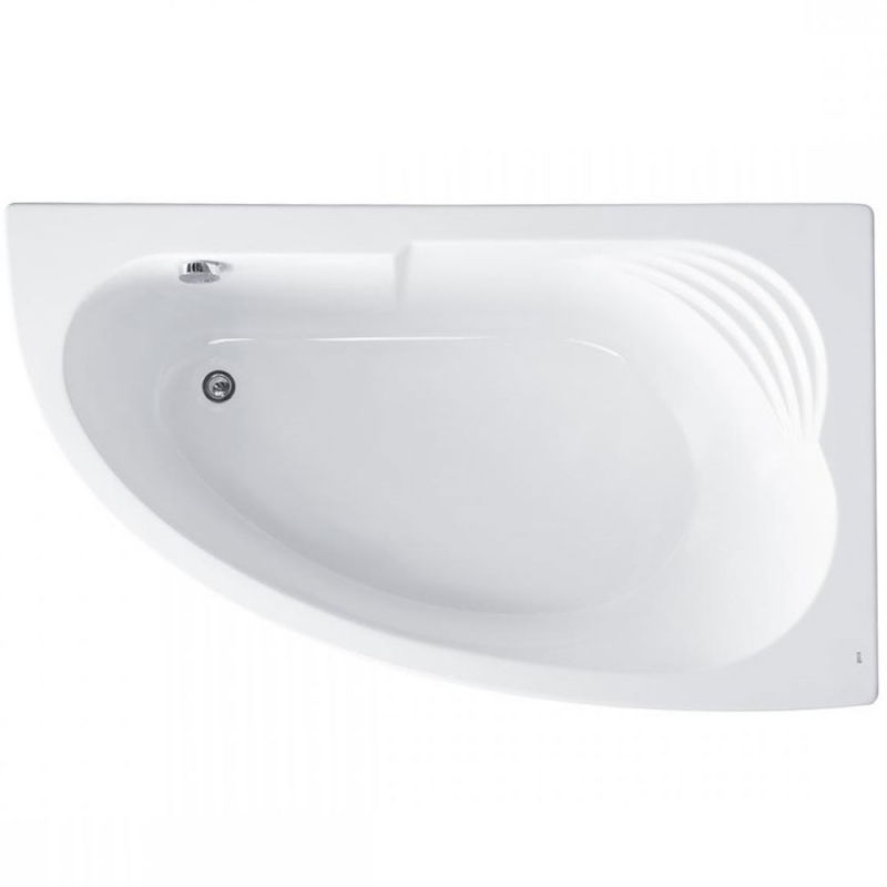 Акриловая ванна Roca Merida 170x100 R ZRU9302993 без гидромассажа фото