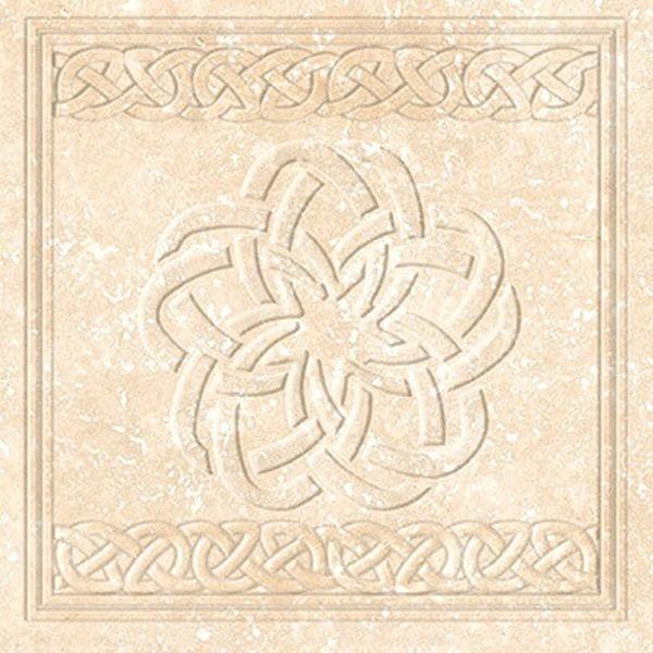 Керамогранит Exagres Stone Cream Flor 33х33 см керамогранит exagres stone gris flor 33х33 см