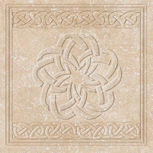 Керамогранит Exagres Stone Ocre Flor 33х33 см фото