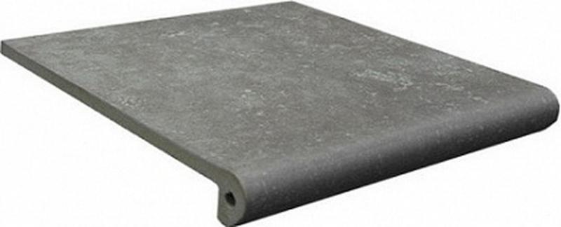 Ступень фронтальная Exagres Stone Peldano Gris 33х33 см керамогранит exagres stone gris flor 33х33 см