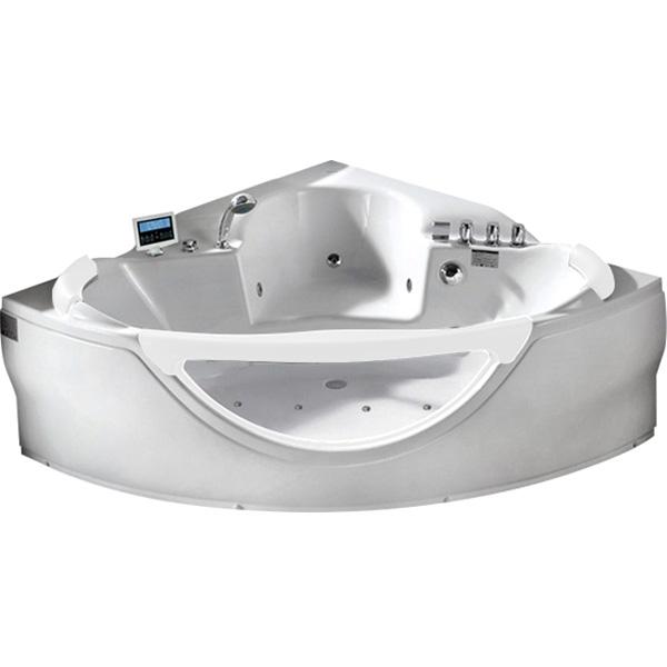 Акриловая ванна Gemy G9025 II K 155х155 С гидромассажем акриловая ванна gemy g9221