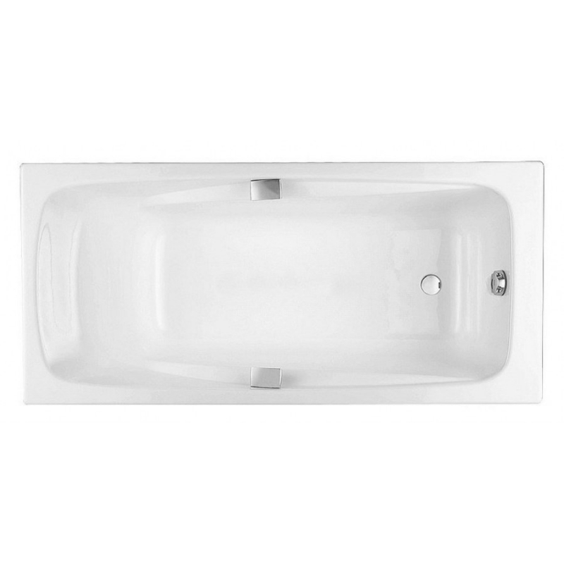 Чугунная ванна Jacob Delafon Repos 160x75 E2929-00 без гидромассажа ванна из искусственного камня jacob delafon elite 170x75 с щелевидным переливом e6d031 00 без гидромассажа