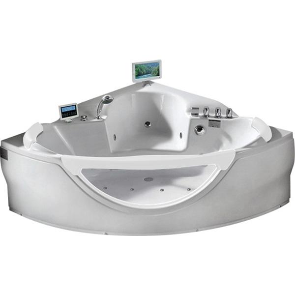 Фото - Акриловая ванна Gemy G9025 II O 155x155 с гидромассажем акриловая ванна gemy g9085 o l 180х116 l с гидромассажем