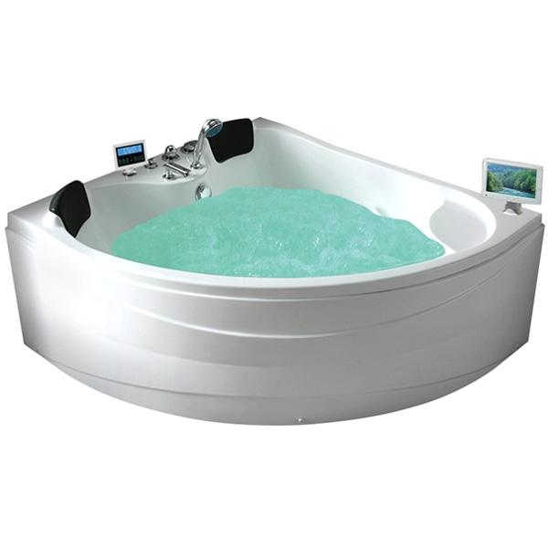 Фото - Акриловая ванна Gemy G9041 O 155х155 с гидромассажем акриловая ванна gemy g9085 o l 180х116 l с гидромассажем