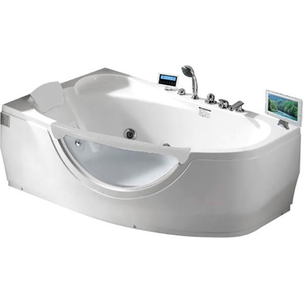 Фото - Акриловая ванна Gemy G9046 II O L 171х99 L с гидромассажем акриловая ванна gemy g9085 o l 180х116 l с гидромассажем