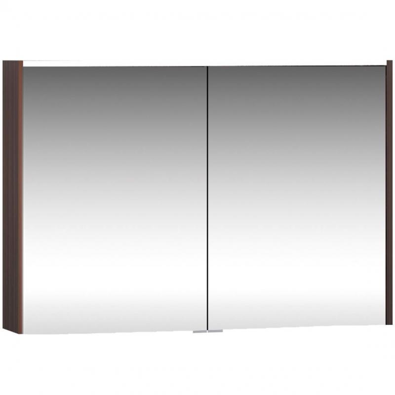 Зеркальный шкаф Vitra Metropole 100 58213 с подсветкой Сливовое дерево зеркальный шкаф vitra metropole 100 с подсветкой сливовое дерево
