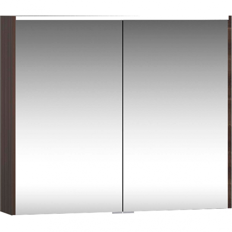 Зеркальный шкаф Vitra Metropole 80 58211 с подсветкой Сливовое дерево зеркальный шкаф vigo kolombo 80 с подсветкой серый