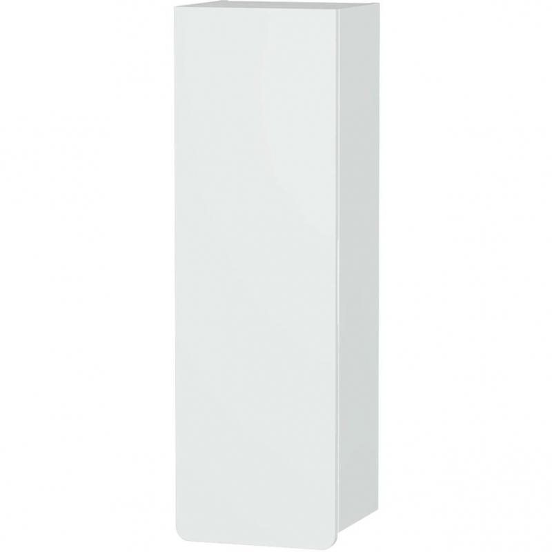 Шкаф пенал Vitra D-Light 36 L 58157 подвесной Белый матовый шкаф пенал vitra d light 36 подвесной l белый матовый