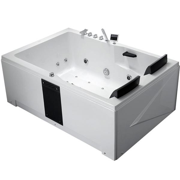 Фото - Акриловая ванна Gemy G9061 K L 181х121 L с гидромассажем акриловая ванна gemy g9085 o l 180х116 l с гидромассажем