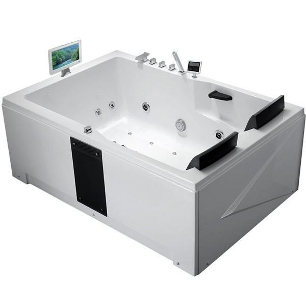 Фото - Акриловая ванна Gemy G9061 O L 181х121 L с гидромассажем акриловая ванна gemy g9085 o l 180х116 l с гидромассажем