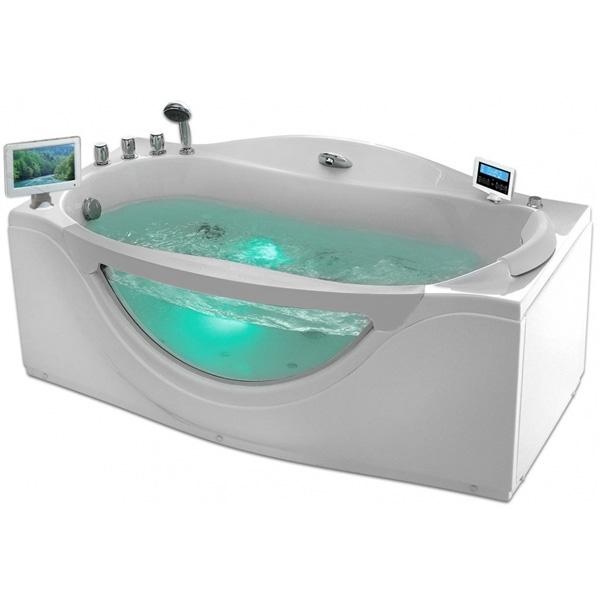 Фото - Акриловая ванна Gemy G9072 O L 171х92 L с гидромассажем акриловая ванна gemy g9085 o l 180х116 l с гидромассажем