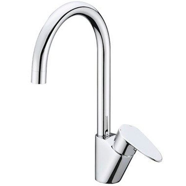 Leine 3507 ХромСмесители<br>Смеситель для кухни Wasser Kraft Leine 3507.<br>Однорычажный смеситель с поворотным изливом и аэратором. Имеет долгий срок эксплуатации за счет качественных деталей, неприхотлив в уходе. Дополнит любую ванную комнату своей функциональностью и стильной формой конструкции.<br><br>Характеристики:<br>Длина излива: 17,2 см.<br>Изготовлен из высококачественной латуни с покрытием цвета хром, которое не теряет цвет со временем, устойчиво к царапинам и превосходно защищает от коррозии.<br>Керамический картридж 35 мм Sedal (Испания), что гарантирует долгий срок службы.<br>Встроенный силиконовый аэратор Neoperl Cascade (Германия) для равномерного распределения струи.<br>Гибкая подводка G 1/2 Sedal (Испания).<br><br>В комплекте поставки: смеситель, монтажный набор.<br>