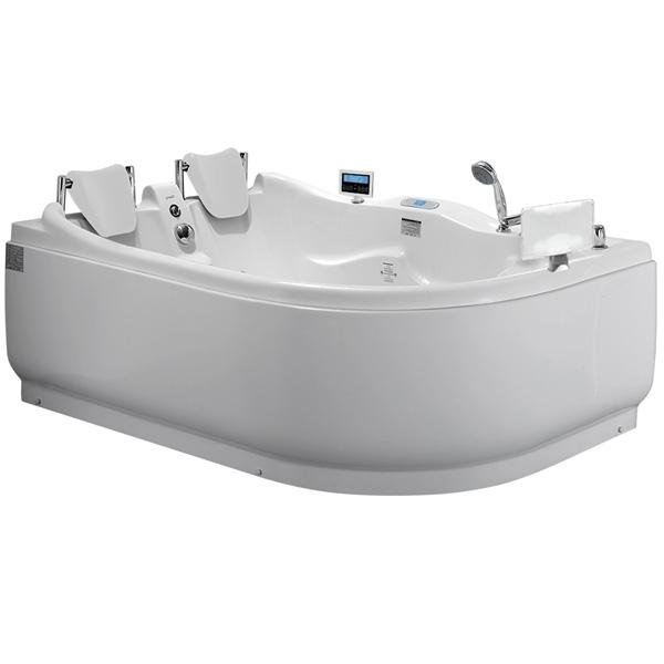Акриловая ванна Gemy G9083 O L 180х121 L с гидромассажем акриловая ванна gemy g9066 ii o l