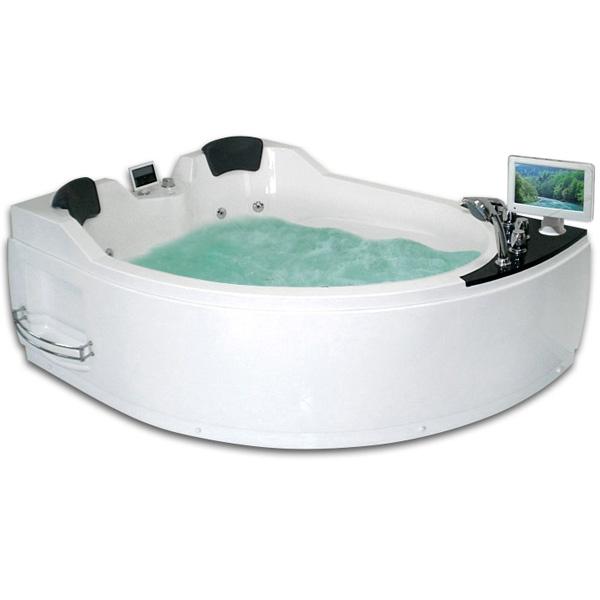 Фото - Акриловая ванна Gemy G9086 O L 170х133 L с гидромассажем акриловая ванна gemy g9085 o l 180х116 l с гидромассажем