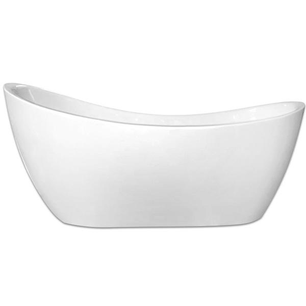 Акриловая ванна Abber AB9214 170х85 без гидромассажа акриловая ванна abber ab9245 169х75 без гидромассажа