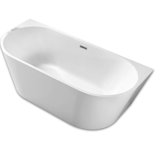 Акриловая ванна Abber AB9216 170х80 без гидромассажа акриловая ванна abber ab9245 169х75 без гидромассажа
