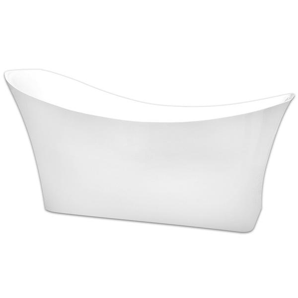 Акриловая ванна Abber AB9242 170х85 без гидромассажа акриловая ванна abber ab9245 169х75 без гидромассажа