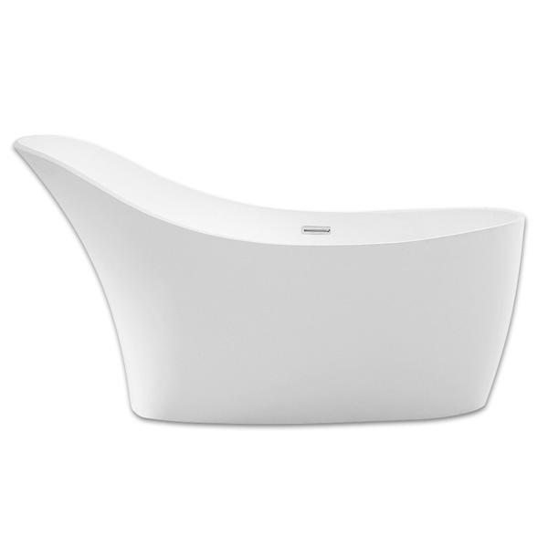 Акриловая ванна Abber AB9245 169х75 без гидромассажа акриловая ванна abber ab9245 169х75 без гидромассажа