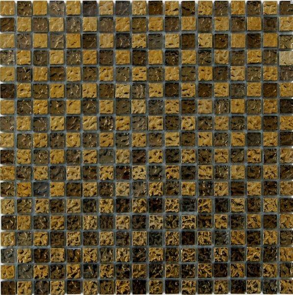 Стеклянная мозаика Orro Mosaic Glass Golden Reef 30х30 см