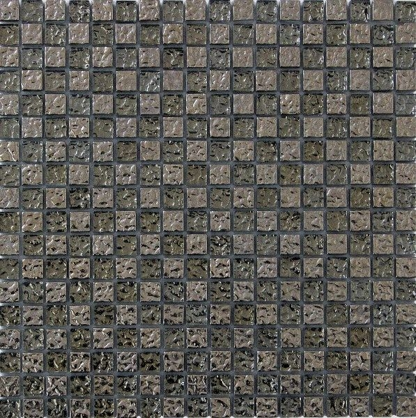 цена Стеклянная мозаика Orro Mosaic Glass Silverstone 15х15 см онлайн в 2017 году