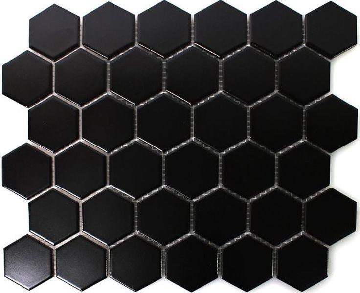 Керамическая мозаика Orro Mosaic Ceramic Black Gamma 27,2х28,2 см